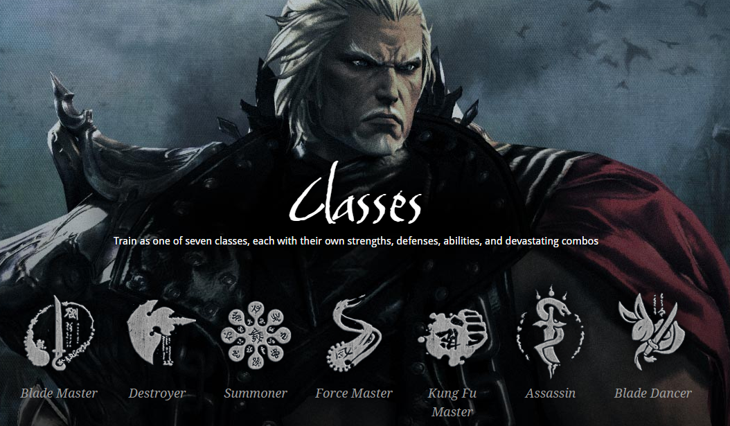 Blade and Soul Class Overview
